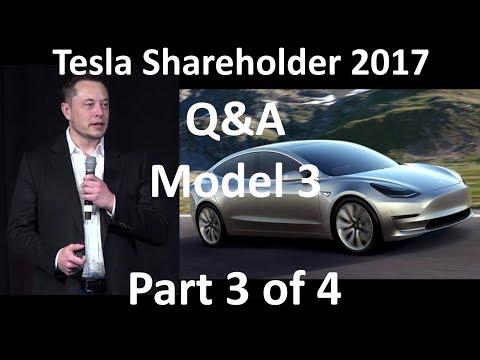 Elon Musk at Tesla Annual Shareholder Meeting - 2017-06-06 [Part 3 of 4]