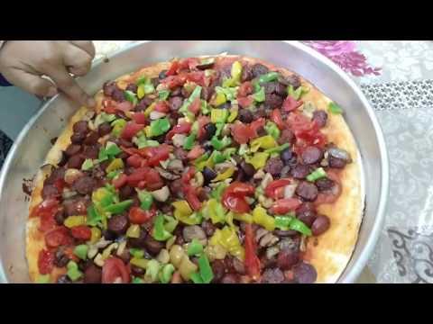 صورة  طريقة عمل البيتزا طريقه عمل البيتزا زي المحلات طريقة عمل البيتزا من يوتيوب