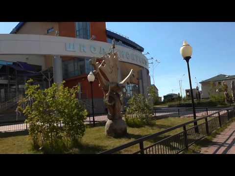 Салехард город на полярном круге