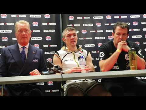 FULL POST PRESS CONFERENCE WITH FRANK WARREN LIAM SMITH V WILLIAMS CLASH