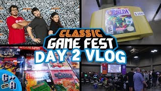 Classic Game Fest 2018 VLOG Day 2 - Game Away