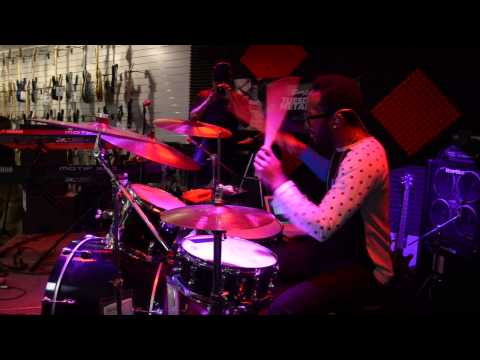 Sam Ash's Drummer's Night Out - Jerome Flood II 1