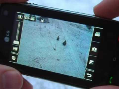 LG KU990 viewty videorecenzia