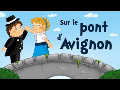 Sur le pont d'Avignon (chanson avec paroles)