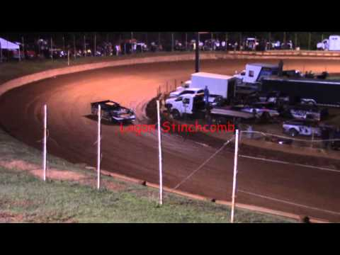 Winder Barrow Speedway Limited Late Model Qualifiying 6/13/15