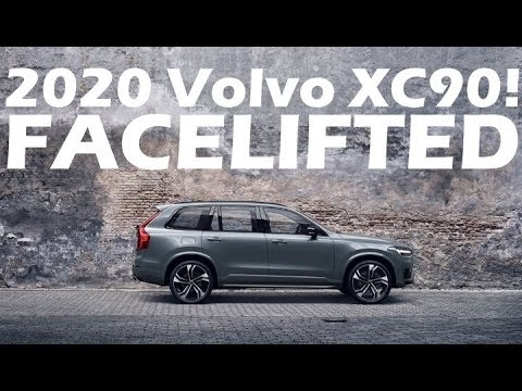 2020 Volvo Xc90 Facelift Revealed Youtube