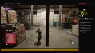 Tearing stuff up with jay on watch dogs 2