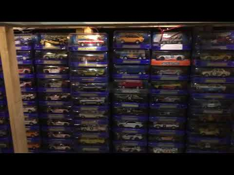 Scalextric digital slot car layout