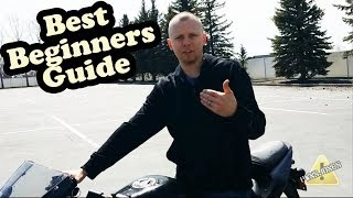 First Time Riding a Motorcycle How to - Ninja 250
