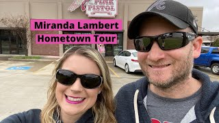 Miranda Lambert Hometown Tour - Childhood Home/Pink Pistol/Parent's Home
