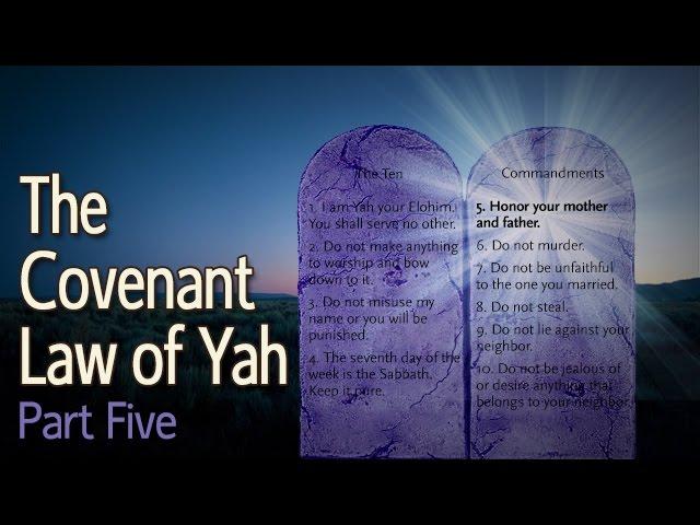 Covenant Law of Yah: Part 5