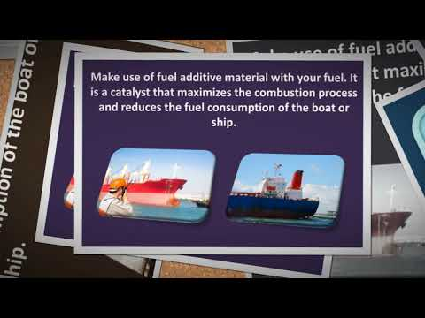 Augment the Marine fuel Efficiency with skillful technology