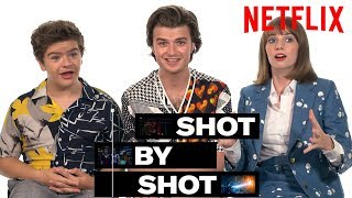 Stranger Things 3 Cast Gaten Matarazzo, Joe Keery & Maya Hawke Break Down a Scene | Shot by Shot