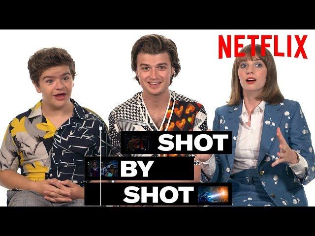 Stranger Things 3 Cast Gaten Matarazzo, Joe Keery & Maya Hawke Break Down a Scene | Shot by Shot