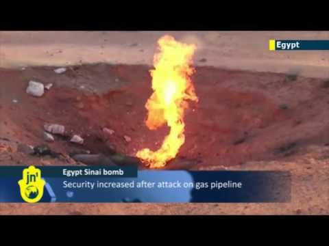 Sinai Islamist Insurgency: security increased after latest attack on strategic Egyptian gas pipeline