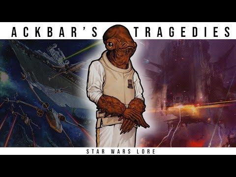 The Tragic Life of Admiral Ackbar | Star Wars Legends Lore