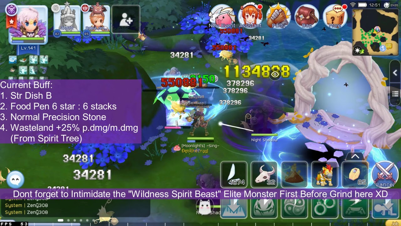 Phantom Dancer 4th Job Wasteland New Map Grind, Build & Result - Ragnarok Online Mobile Eternal Love