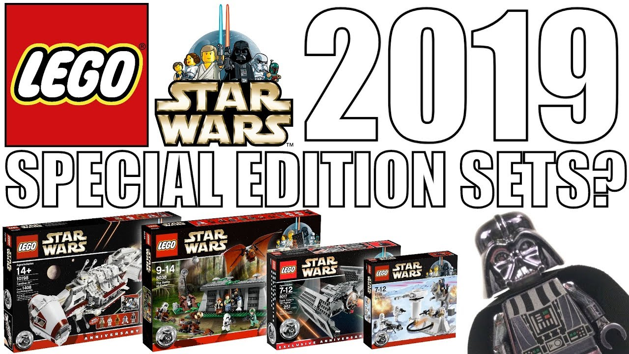 Lego Star Wars 20th Anniversary Sets For 2019 Youtube