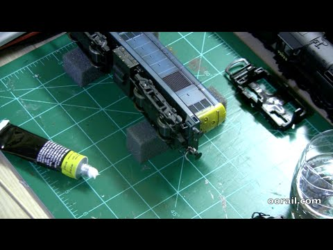 oorail.com   Loco Works Wednesday #4 - Detailing and Minor Repairs