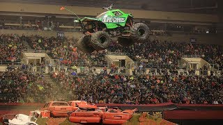 TMB TV Monster Trucks Unlimited - Toughest Monster Truck Tour - Grand Forks, ND Freestyle 2018