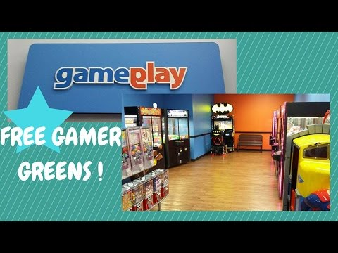 gamer green claw machine