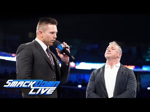 The Miz asks Shane McMahon to make a rematch with The Usos: SmackDown LIVE, Feb. 19, 2019