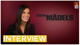 Taffe Mädels - The Heat | Sandra Bullock EXCLUSIVE Interview (2013)