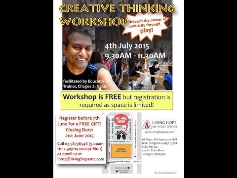 Creative Thinking Skills let's play!