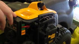 Poulan Pro PP133 Gas Trimmer Review (17-inch)