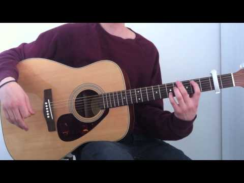ROLL AWAY YOUR STONE BY MUMFORD & SONS - Guitar Tutorial