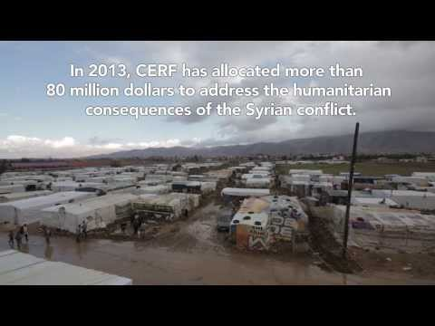 UN Central Emergency Response Fund Allocations for Syria Crisis