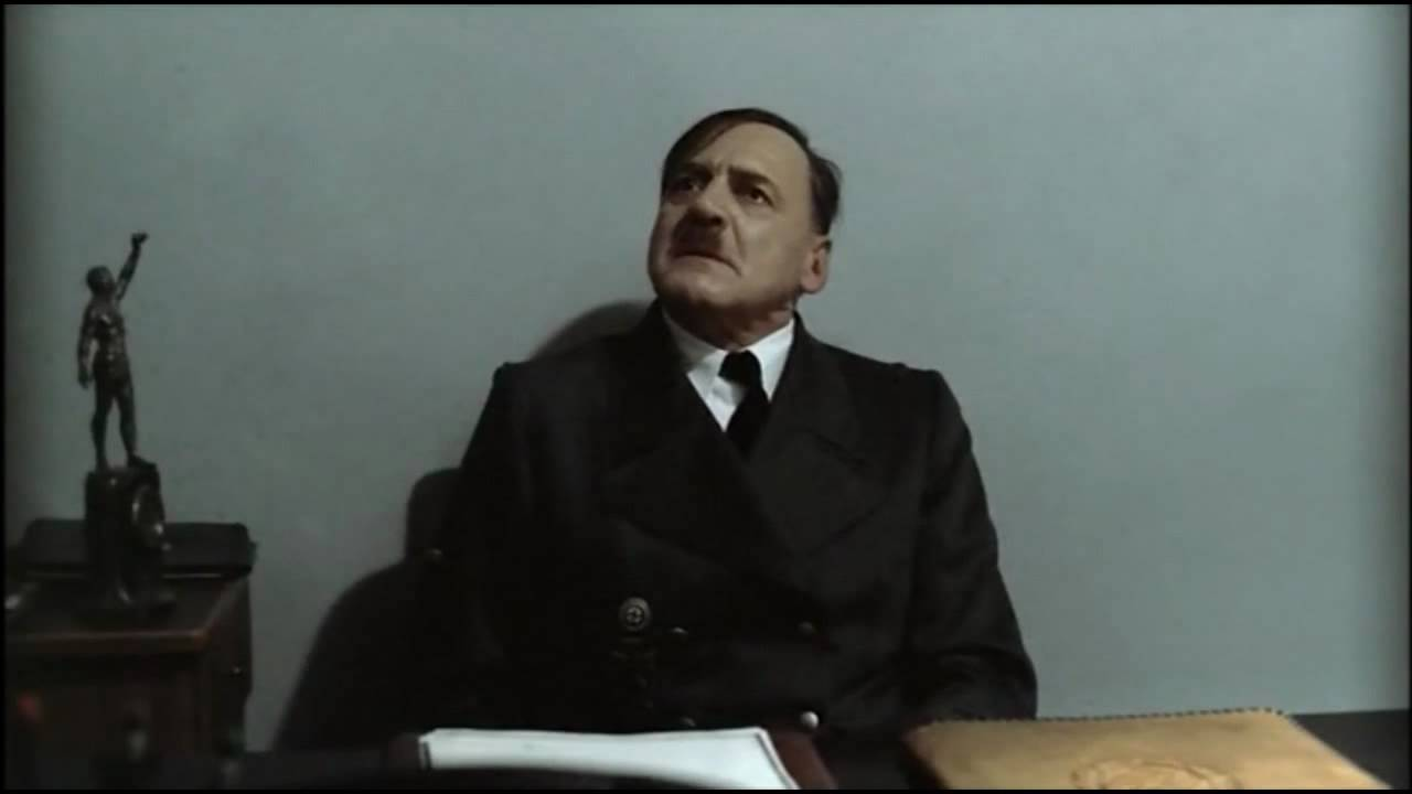 Hitler is told to shut up