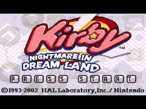 Ice Cream Island - Kirby: Nightmare in Dream Land