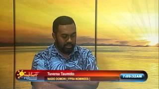 Nasio Domoni Interview [Air Date: 150416]