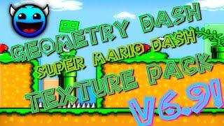 Geometry Dash [1.9] - Super Mario Dash - Texture Pack Update 6.9