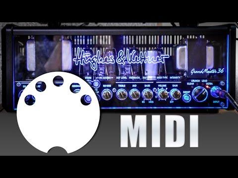 Hughes & Kettner Grandmeister 36 - MIDI Functions