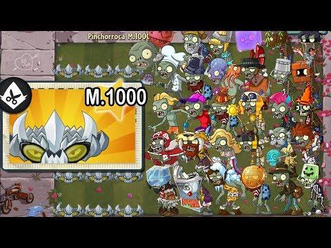 Plants vs Zombies 2 - Alv Super Pinchorroca Level 1000