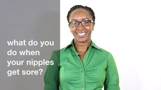 What do you do when your nipples get sore? - Evesmama