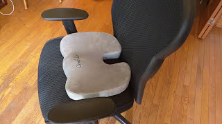 ComfiLife Coccyx Orthopedic Memory Foam Office Chair and Car Seat - 5 star rated!