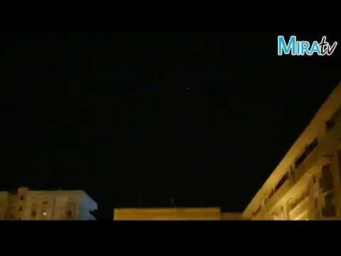 Avistamiento de satélites Starlink en el cielo de Jerez de la Frontera