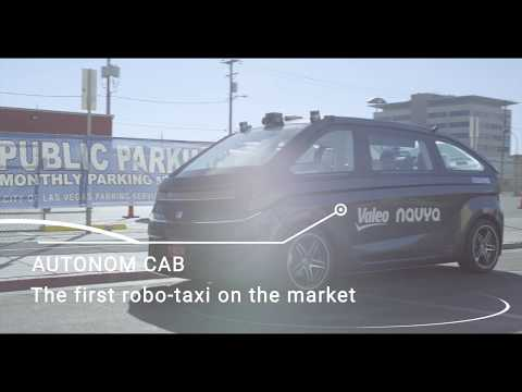 The AUTONOM CAB service and technology in action (Las Vegas, NV)
