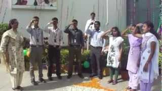 Indian National Anthem using Sign Language By Wiproites, Mysore