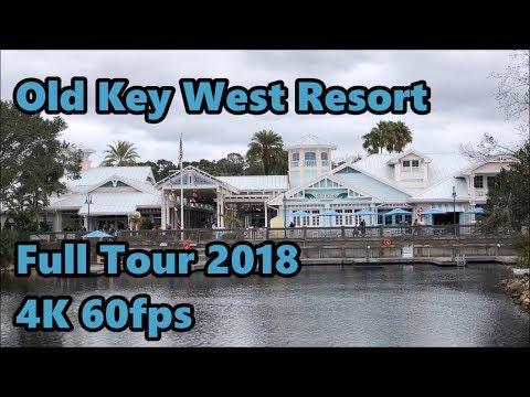 Disney's Old Key West Resort | Full Tour 2018 | 4K 60fps | Walt Disney World