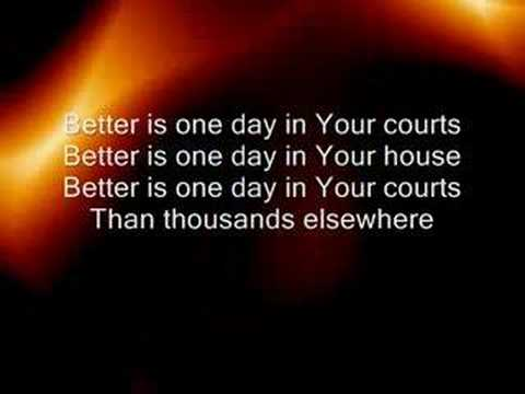 Better is One Day - YouTube