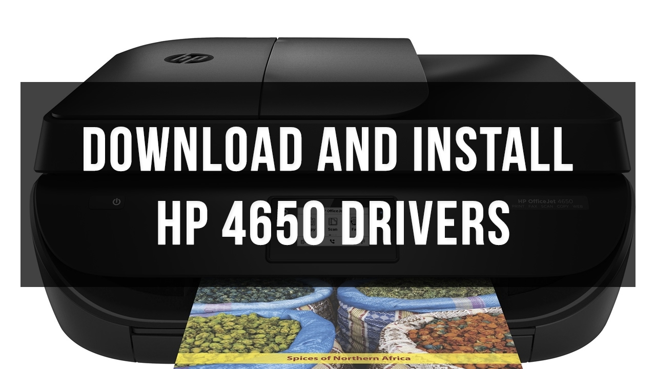 hp officejet 4650 driver is unavailable