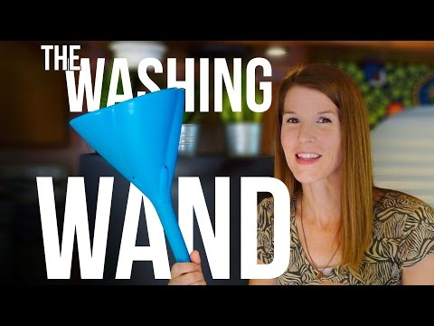 MY NEW LAUNDRY SOLUTION (WASHING WAND AND NINA SPIN SOFT DRYER UNBOXING AND FIRST LOOK) In An RV