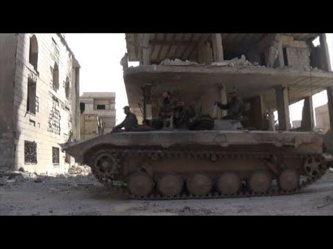 النظام السوري يواصل هجومه على الغوطة الشرقية