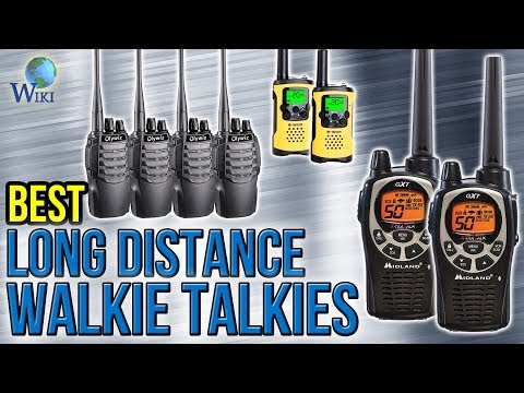7 Best Long Distance Walkie Talkies 2017