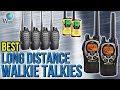 7 Best Long Distance Walkie Talkies 2017