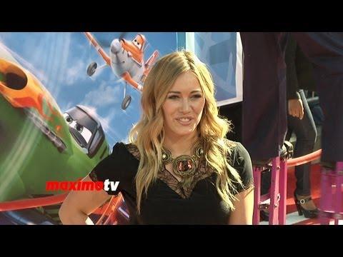 Hilary Duff Lands at PLANES World Premiere Red Carpet Arrivals thumbnail